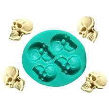 Tools DIY Cookies <b>3D Skull</b> Head Halloween Fondant Mould ...