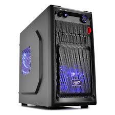 <b>Корпус Deepcool SMARTER</b> LED black mATX — купить в ...