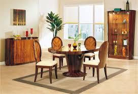 dining room interior decor furnished sleek