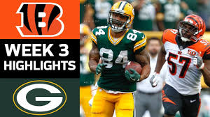 Bengals vs. Packers | NFL Week 3 Game Highlights - YouTube
