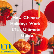 Chinese National Holidays in 2020 & 2021 - LTL Mandarin School