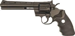 Револьвер софтэйр <b>GALAXY G</b>.<b>36</b>, пружинный, цвет: черный, 6 мм