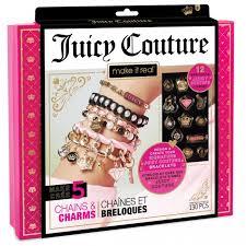 <b>Juicy Couture</b> Набор для создания бижутерии Стильные <b>браслеты</b>