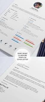 free cv   resume templates  amp  psd mockups   freebies   graphic    free print ready resume and cover later