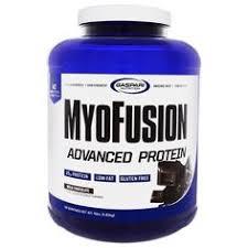 Gaspari Nutrition, <b>MyoFusion</b>, <b>Advanced Protein</b>, <b>Milk</b> Chocolate, 4 ...
