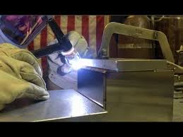 Tig Welding a <b>Stainless Steel</b> Argon <b>Box</b> part <b>1</b> of 2 - YouTube