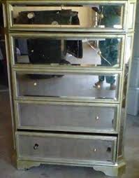 200 used borghese mirrored 5 drawer chest borghese mirrored furniture