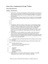nursing study guide answer key family