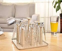 MEOLY <b>Multifunction</b> Mug Organizer Holder Cup <b>Drying</b> Rack Bottle ...