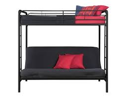 Loft Bed With Sofa Amazoncom Dorel Home Products Twin Over Full Futon Bunk Bed