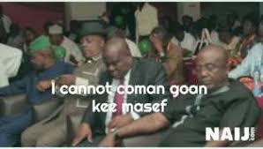 Image result for meme of senator sleeping during sitting nigeria
