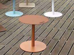 <b>Square aluminium</b> bistro <b>side table</b> VEDET R By Adico design ...