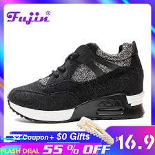 <b>Fujin Brand 2019</b> Lady Sneakers Spring <b>Summer</b> Autumn Wedge ...