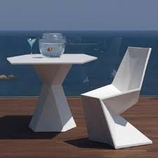 Vertex Outdoor <b>Bistro Table</b> and Chairs - Модернизм - Дворик ...