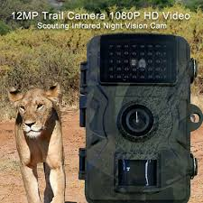 <b>DL001 Camera</b> 12MP Night-Vision Wild Surveillance Traps <b>Outdoor</b> ...