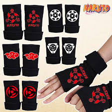 naruto hatake kakashi gloves cosplay costumes accessories mittens anime dress apparel around props