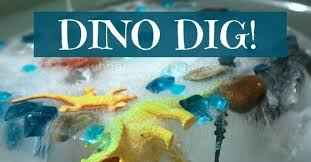 Dino Dig – Melting <b>Ice</b> with Salt and <b>Water</b>