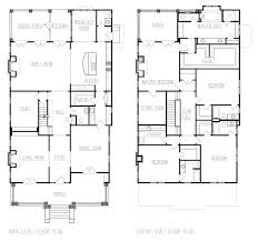 Adam Stillman Residential Design   Your Home  Youre Home Main and Upper Floor Plans