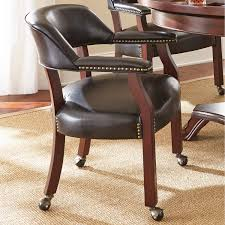Dining Room Chairs With Casters And Arms Dining Table And Chairs With Casters Dining Chairs Wheels