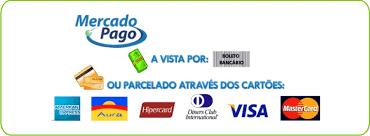 Resultado de imagem para bandeira de cartões aceitos mercado livre
