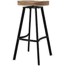"Mercury Row® Lindquist Swivel <b>Solid</b> Wood 31.5"" <b>Bar Stool</b> ..."