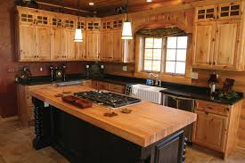 Pine Kitchen Cupboard Doors 1000 Ideas About Rustic Hickory Cabinets On Pinterest Hickory