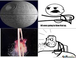 Death star by coolkid - Meme Center via Relatably.com