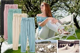 XinDao Womens Outdoor <b>Elastic</b> Waist Casual Loose Baggy <b>Linen</b> ...