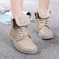 Covoyyar Fall <b>Military Combat</b> Lace Up Waterproof <b>Pu Leather</b> ...