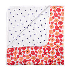 flora - poppies <b>classic</b> dream blanket | aden + anais