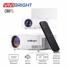 <b>VIVIBRIGHT C80 LCD</b> Home Theater Projector Lumens Support ...