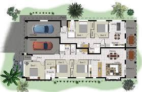 Arcadian  amp  Floor Plan  Av Jennings House Floor Plans Home    Dual Living House Plans