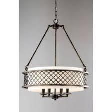 lux bronze 4 light beige pendant chandelier chandelier pendant lighting