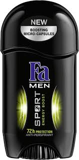 Дезодорант-Стик - <b>Fa Men Sport</b> Energy Boost <b>Deodorant</b> Stick ...