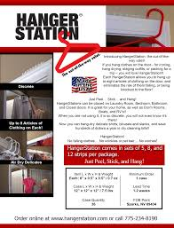 product flyer hangerstation product flyer