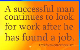 positive thoughts for the day, quotes about WORK JOB, quote ... via Relatably.com