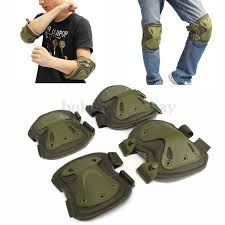 <b>4pcs</b>/<b>set of kneepad CS</b> tactical Knee Pads & Elbow Pads Hunting ...