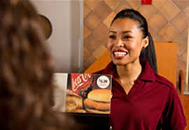 Image result for smiling cashier