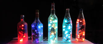 as well as custom led lighting projects i produce these unique touch sensitive bottle lights each is filled with dozens of full colour addressable leds and bottle lighting
