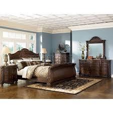 good ashley furniture mn north shore sleigh bedroom set sig b a sleigh br set