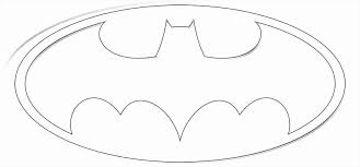 Small Picture Batman Symbol Coloring Page Coloring Pages Online
