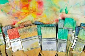 Image result for paintbrush and palette