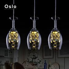 <b>Modern</b> Minimalist Wine <b>Glass Pendant Lights</b> Led pendant light ...