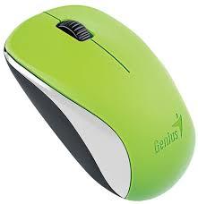 Оптическая светодиодная <b>мышь Genius NX-7000 USB</b> Green ...