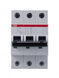 <b>Выключатель автоматический</b> 3-полюсный <b>25A</b> C 6kA ABB ...