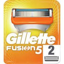 Сменные кассеты <b>для</b> бритвенного <b>станка Gillette Fusion</b> 5 2 шт ...