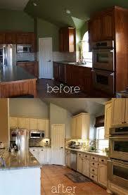 cheap kitchen cupboard: bampa kitchen diy antique glaze cabinets kashmir granite glass stone backsplash white glazed