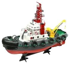 Корабль <b>Heng Long</b> Seaport Work Boat (3810) 1:20 60 см — купить ...