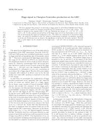 (PDF) Higgs signal in Chargino-Neutralino production at the LHC