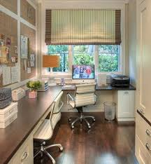 simple home office next to a window with a view beautiful simply home office